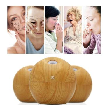 130ml Portable Ultrasonic Aroma Humidifier with 3 Modes