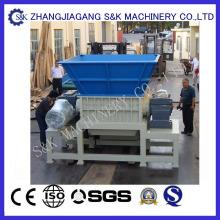 Reciclagem de resíduos plásticos Shredder Machine
