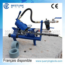 Pneumatic Chisel Drill Bit Integral Drill Rods Sharpening Machine