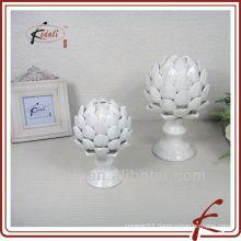 Home Ceramic artichoke shape decoration artwork