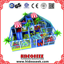 Sea Style kleine billige weiche Indoor-Spielplatzgeräte
