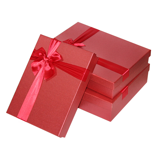 Red Fancy Rigid Gift Box