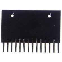 Pettine nero piastra, scala mobile componenti / parti