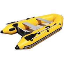 Tolles Schlauchboot zum Angeln mit Luftboden