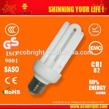 T3 4U 20W lâmpada 10000H CE qualidade de poupança de energia