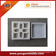 Molde plástico para azulejos de pavimentación