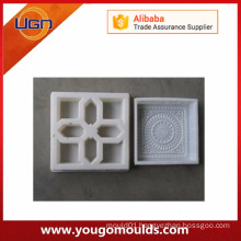 Plastic mould for paving tiles
