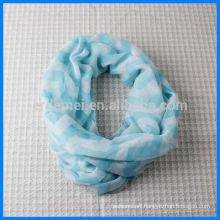 Wholesale women printing loop scarf