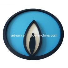 Affichage à LED polychrome accrochant de Lightbox avec la lumière de LED