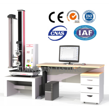Single Column Universal Testing Machine with Extensometer