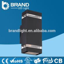 3 anos de garantia IP65 Epistar Up Down lâmpada de parede exterior LED, CE RoHS
