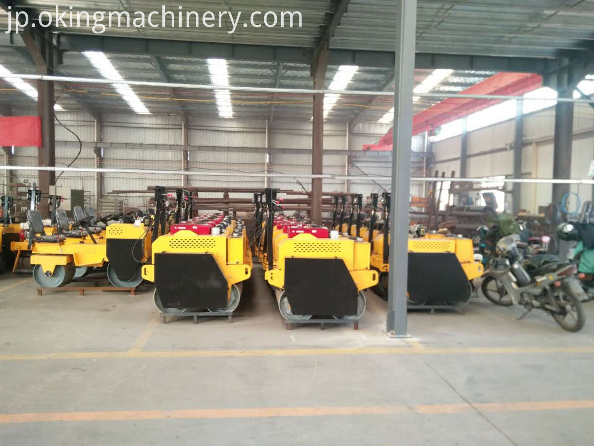 Walk Behind Vibratory Road Roller Compactor
