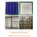 cheap solar panel cell polycrystalline 6x6 for sale