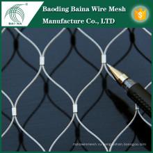 1 мм проволочная сетка из нержавеющей стали с резиновой сеткой