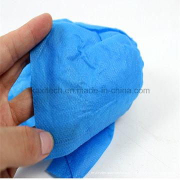 Cobertura ambiental descartável da sapata PP não-tecido impermeável Kxt-Sc34 antiderrapagem