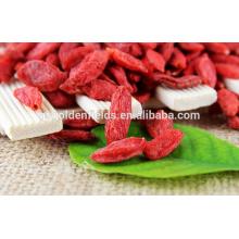 2017 venta de la fábrica secado Ningxia Goji Berry orgánico Gojiberry