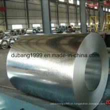 Alibaba feito na bobina de aço galvanizada mergulhada quente de China Dx51d Z100 para telhar a folha