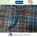 Doublure classique de doublure de tissu de doublure d'impression de veste de costume des hommes de polyester