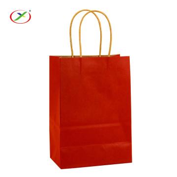 Shopping Kraftpapiertüte Mit Griff