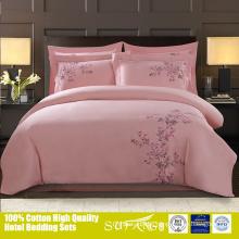 3d peach blossom pattern little sweet heart duvet cover bedding sets / bed sheet set