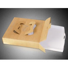 Caixa feita sob encomenda da entrega da pizza da caixa de Kraft da caixa da pizza do produto comestível