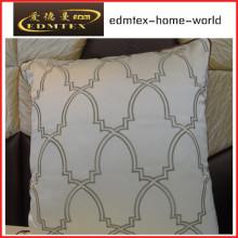 Embroidery Decorative Cushion Fashion Velvet Pillow (EDM0343)