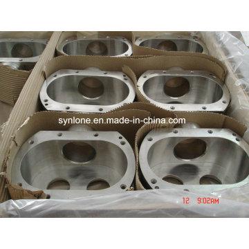 Carcasa forjada de acero inoxidable con mecanizado CNC
