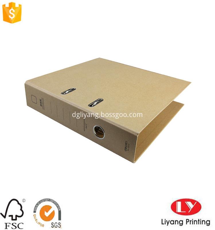 brown kraft paper file folder