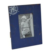 Blue Photo Frame for Home Decoration