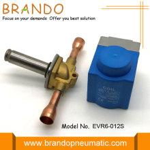 Valvola elettromagnetica tipo Danfoss EVR6 da 1/2 pollici