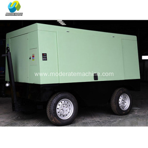 90KW Electric Movable Screw Compressor with High Quality