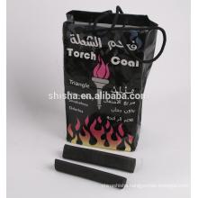 hexagon briquette charcoal hookah charcoal
