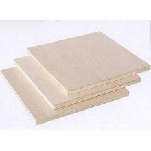 Contreplaqué plaqué par bois brut / simple avec la bonne qualité pour des meubles