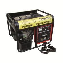 Портативный Silent 50 - 180A переменного тока Дуговой сварки Дизельный генератор сварочный аппарат / машина Tgw6500s