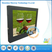 Attractive and durable 15 inch lcd ad player