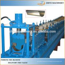 Machine à formage de rouleaux de gouttière demi-rondes