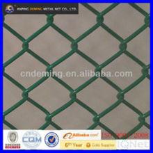 Gartenzaun Gebraucht hochwertige galvanisierte Kettenglied Maschendraht Zaun Klemmen oder Platten Hersteller für Europa-Markt zu verkaufen