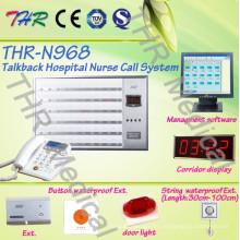 Sistema de llamada de la enfermera del hospital