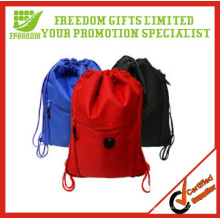 Hot Sale Eco-friendly Material Polyester Drawstring Bag