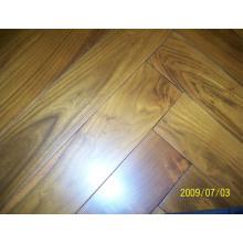 Herrinbone Parquet chinês teca (robinia) madeira supersiler revestimento