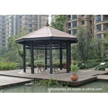 Placa de madeira de alta qualidade composta WPC Pavilion