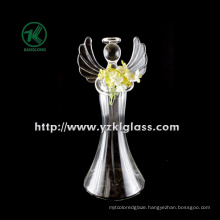 Glass Angle for Christmas Decoration by BV