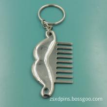 Blank Zinc Alloy Keychain with Customized Logo
