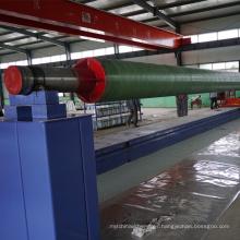 Máquina de la bobina del tubo de la fibra de vidrio del filamento de FRP GRP que hace la máquina para el equipo de la pipa de FRP