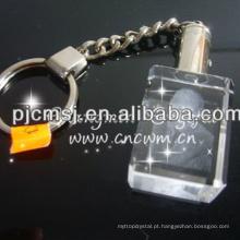 Decoração Chain de cristal personalizada para o anúncio da companhia