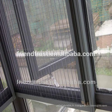Écran de fenêtres invisibles en fibre de verre invisible de haute qualité