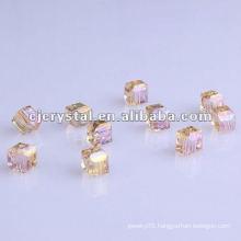 AAA Grade Cube Glass Beads