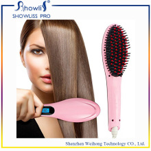 Wholesale OEM Professional Hair Brush Straightener