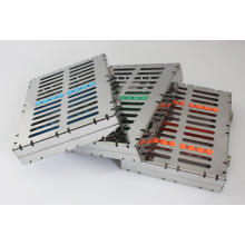 Dental Instrument Cassette - 10 Instrument Tray