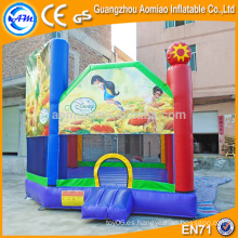 Bouncer inflable vendedor caliente, gorila adulto inflable del bebé del castillo barato
